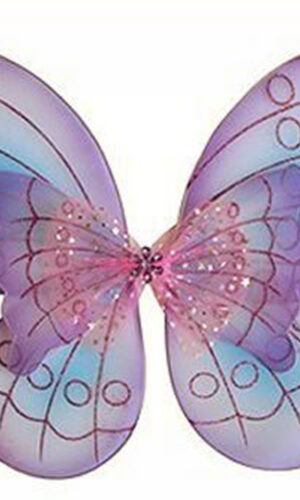 Purple Butterfly Costume Dress-up Wings
