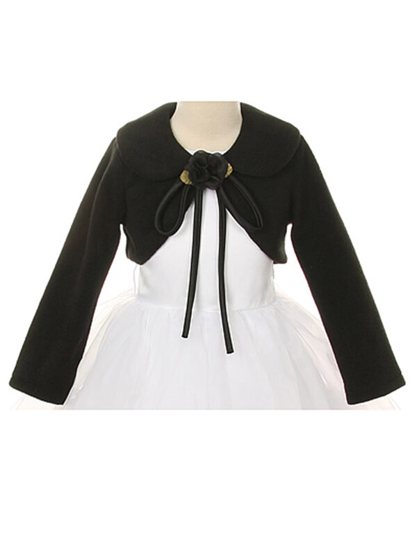Kids Dream Girls' Cozy Fleece Bolero Jacket Cover Sweater